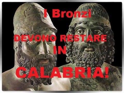 """Il Comitato Bronzi-Museo ha lanciato una petizione on-line """"Proteggiamo i Bronzi di Riace"""""""