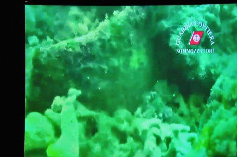 I rilevamenti subacquei del relitto Caorle I nelle immagini della Guardia Costiera