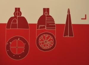La ricostruzione grafica di uno scandaglio usato sulle navi romane
