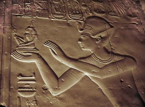 Un rilievo del tempio di Sethi I ad Abido, uno dei più alti esempi di arte egizia