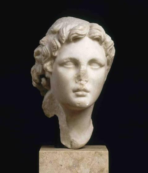 Il ritratto di Alessandro Magno conservato al museo del Louvre di Parigi