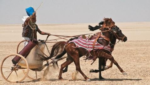 Per gli appassionati dell'Antico Egitto il film Costruzione del carro dei faraoni