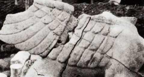 La Sfinge etrusca alata del IV sec. a.C. trafugata dal museo nazionale Cerite di Cerveteri