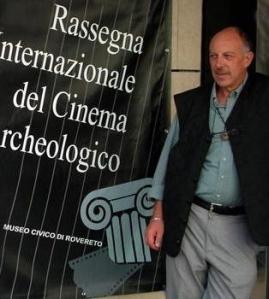 Dario Diblasi direttore della Rassegna internazionale del Cinema archeologico di Rovereto