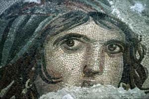 Un prezioso mosaico salvato da Zeugma e oggi al museo di Gaziantep