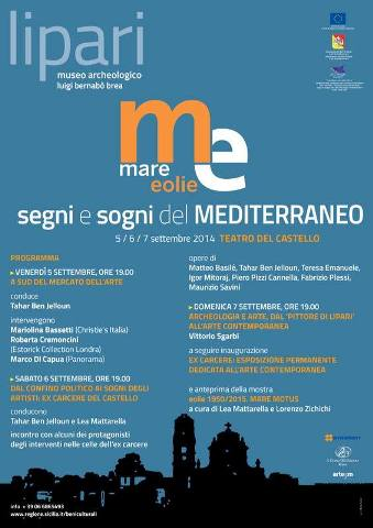 """Il manifesto del festival """"Segni e sogni del Mediterraneo"""""""