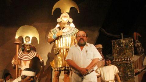 L'archeologo Walter Alva, scopritore della tomba del Signore di Sepan, sarà a Roma e MIlano