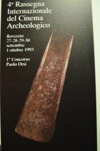 1993, 4. Rassegna: ascia protostorica in bronzo dalla collezione Orsi del museo di Rovereto