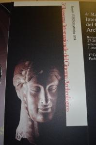 1994, 5. Rassegna: testina magnogreca del V sec. a.C. dalla collezione Orsi del museo di Rovereto