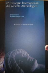 1997, 8. Rassegna: testa recuperata dal mare, dalla collezione Orsi del museo di Rovereto