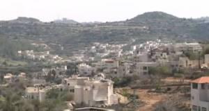 Il piccolo villaggio ebraico di Abu Ghosh vicino Gerusalemme