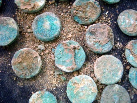 Le monete emesse dalla zecca dei ribelli ebrei anti-romani e ritrovate vicino a Gerusalemme
