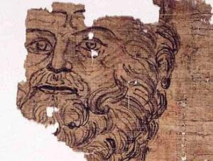 Il Papiro è stato datato al radiocarbonio al I sec. a.C. - I sec. d.C., ma non si può dire per i disegn