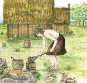 Una ricostruzione della vita quotidiana in una terramara di 3500 anni fa