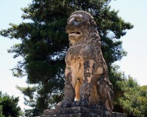 Il leone di Anfipoli: forse il segnacolo del tumulo macedone