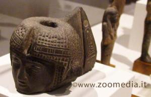 Una testina di Ramses II da Abido conservata a Firenze