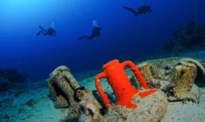 Le strutture messe in luce sono solo una porzione del grande porto romano di Lipari
