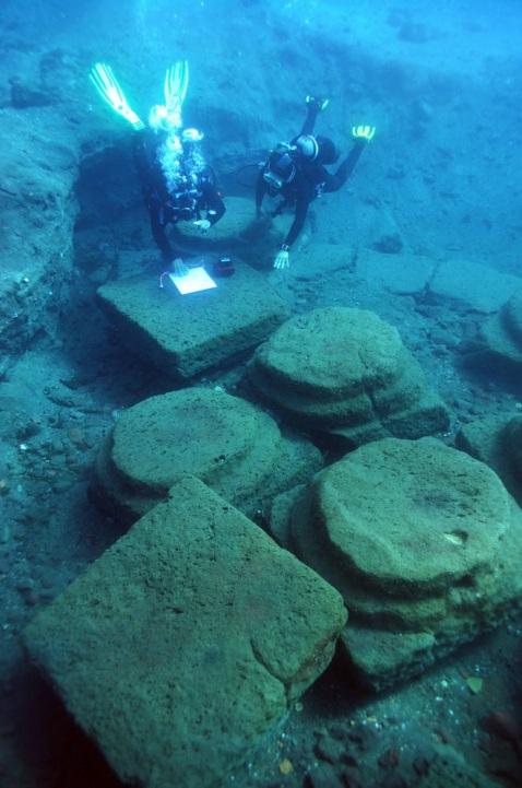 """La campagna di ricerche subacquee """"Archeoeolie 2014"""" ha confermato l'importanza del sito"""