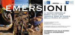 """La mostra """"Emersioni"""" che nel 2011 presentò per la prima volta i reperti dal cantiere del San Luca"""