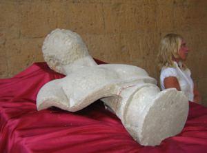 Una statua di età imperiale ritrovata a Campo della Fiera