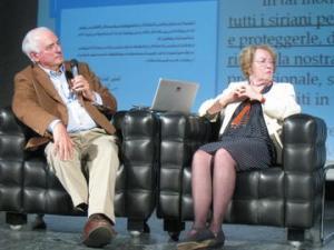 Giorgio Buccellati e Marilyn Kelly alla 25. Rassegna internazionale del cinema archeologico di Rovereto
