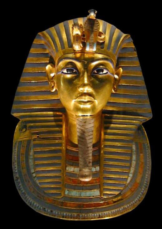 La maschera funeraria di Tutankhamon: uno dei tesori trovati da Carter e Carnarvon nella tomba del giovane faraone