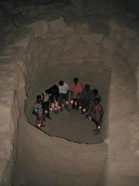 L'abi scoperto a Tell Mozan veniva usato per i riti necromantici di notte