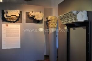 Una sala espositiva del museo Archeologico nazionale di Altino