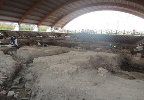 L'area archeologica di San Basilio, vicino ad Ariano Polesine: i reperti sono ad Adria