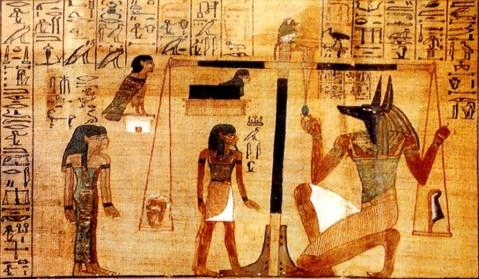 A Conegliano in margine alla mostra di Paolo Renier sull'Osireion di Abido si parla del Libro dei Morti