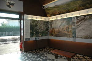 Il punto informativo Aquae Patavinae di Montegrotto Terme