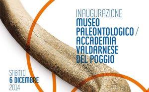 Il manifesto dell'inaugurazione del rinnovato museo di Montevarchi