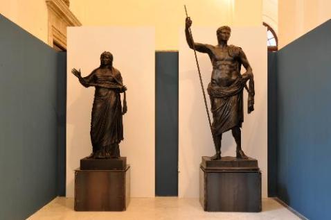 """Al museo archeologico nazionale di Napoli la mostra """"Augusto e la Campania"""" chiude il bimillenario"""