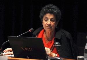 L'archeologa Giuliana Cavalieri Manasse della soprintendenza
