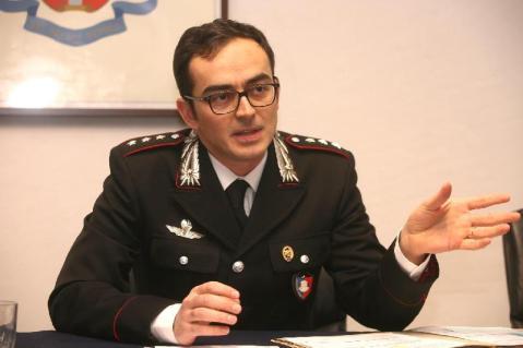Il cap. Ciro Imperato, comandante del nucleo tutela patrimonio artistico dei Carabinieri dell'Emilia Romagna