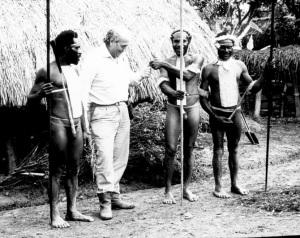 Giancarlo Ligabue nelle isole Marchesi nel 1972