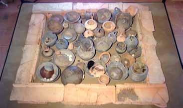 La cosiddetta tomba Fornasotti 1 ricostruita nel nuovo museo archeologico di Altino