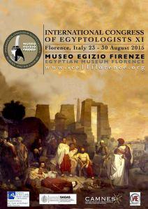 Il manifesto dell'XI congresso di Egittologia