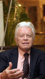 Dusan Sidjanski, presidente del comitato svizzero per la restituzione dei marmi del Partenone