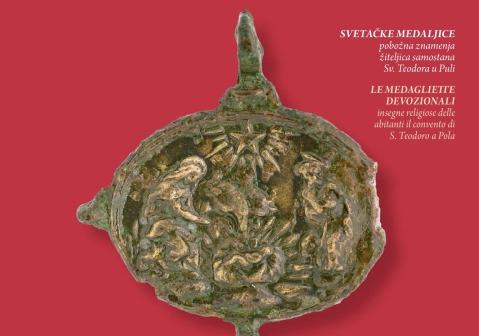 Medaglietta devozionale trovata nello scavo della chiesa di San Teodoro a Pola