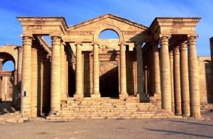 Le straordinarie vestigia di Hatra, la città partica nel nord dell'Iraq