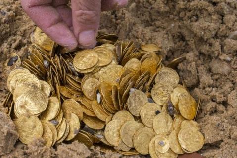 Le monete erano a bordo di una nave ufficiale della tesoreria fatimide