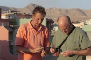 Daniele Morandi Bonacossi (univ. di Udine) in Iraq con Gil J. Stein (Oriental Institute of Chicago)