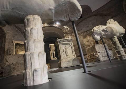 Le statue provenienti dal Lacus Iuturnae saranno visitabili fino al 20 settembre al Tempio di Romolo