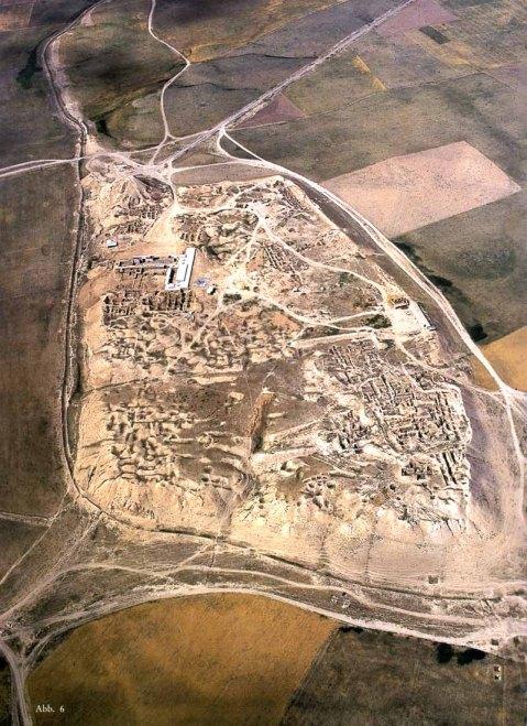 Il sito archeologico della città assira di Nimrud, fondata nel XIII sec. a.C. da Salmanassar I