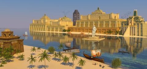 Una città affascinante: così doveva apparire agli assiri tremila anni fa la loro capitale Nimrud, sulle rive del fiume Tigri
