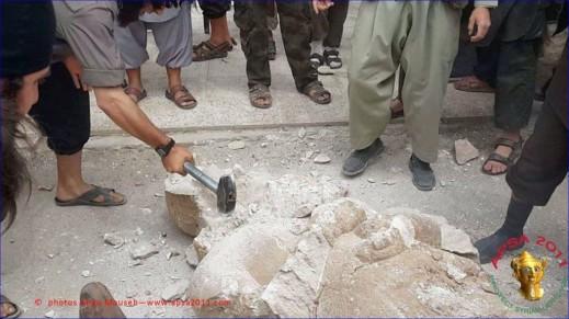 Secondo gli esperti molte delle opere distrutte a Mosul erano copie: gli originali sarebbero a Baghdad