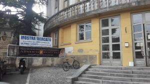 La Rotonda di Vittorio Veneto, sede della mostra di Renier