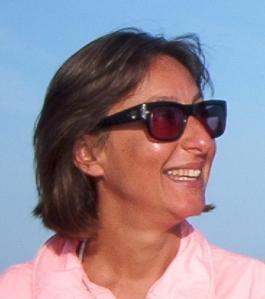 """La giornalista Cinzia Dal Maso, co-autrice di """"Archeostorie"""""""