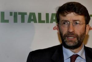 Il ministro per i Beni culturali Dario Franceschini